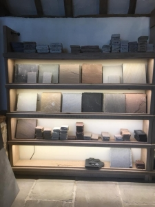 New LED strip lighting installed onto Bannold display shelving in their reception area, very effective.
